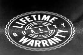 Lifetime Warrantee