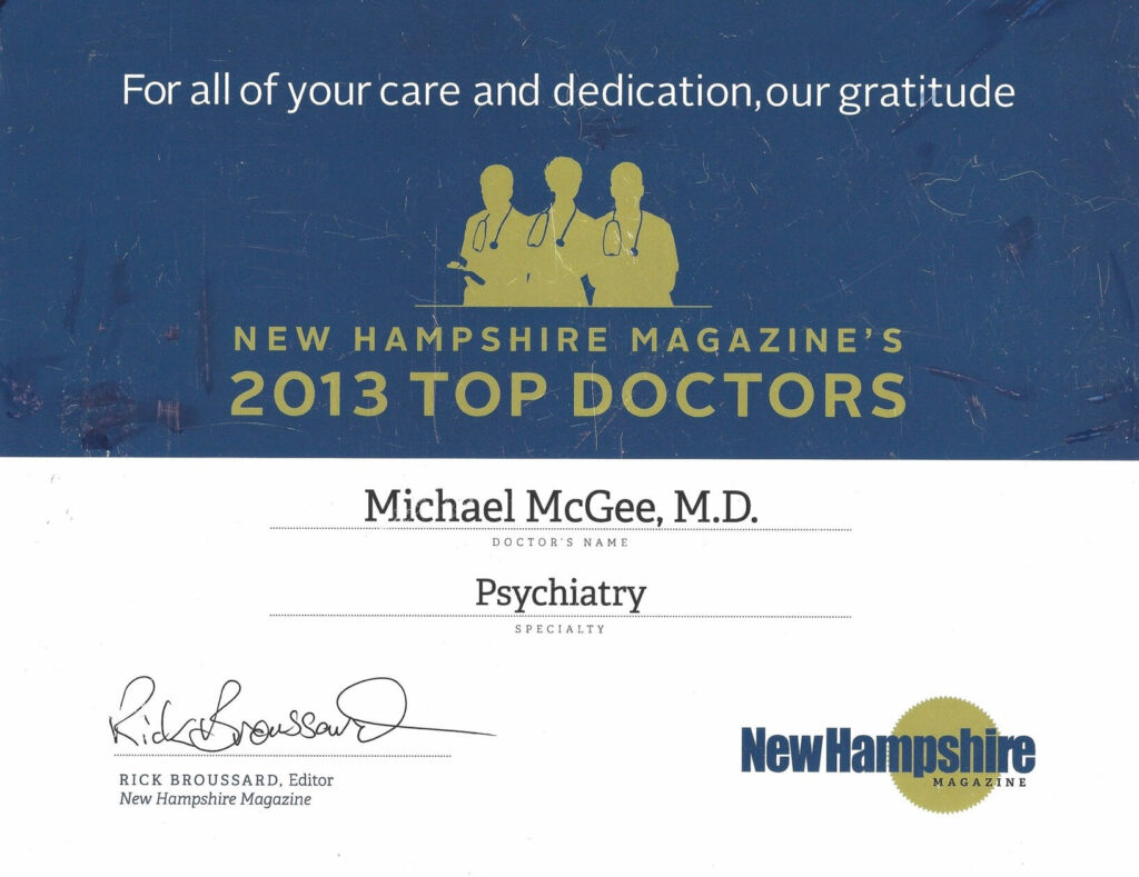 2013 Top Doctor Award